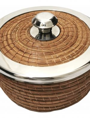 Tortillero Artesanal Hoja De Pino Hecho A Mano 1kg